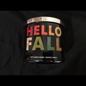 Bath and Body Works Hello Fall 3-Wick Candle